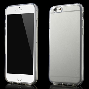 GLOSSY blødt transparent cover til iPhone 6 & 6S