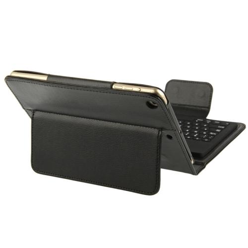 iPad Mini 1 2 3 4 læder cover dansk (Æ Ø Å) bluetooth tastatur